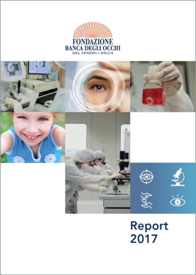 Report Dati 2017 Fondazione Banca degli Occhi