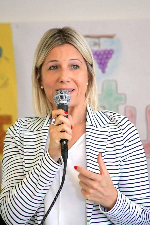 L'Assessore Regionale alla Sanità, Manuela Lanzarin