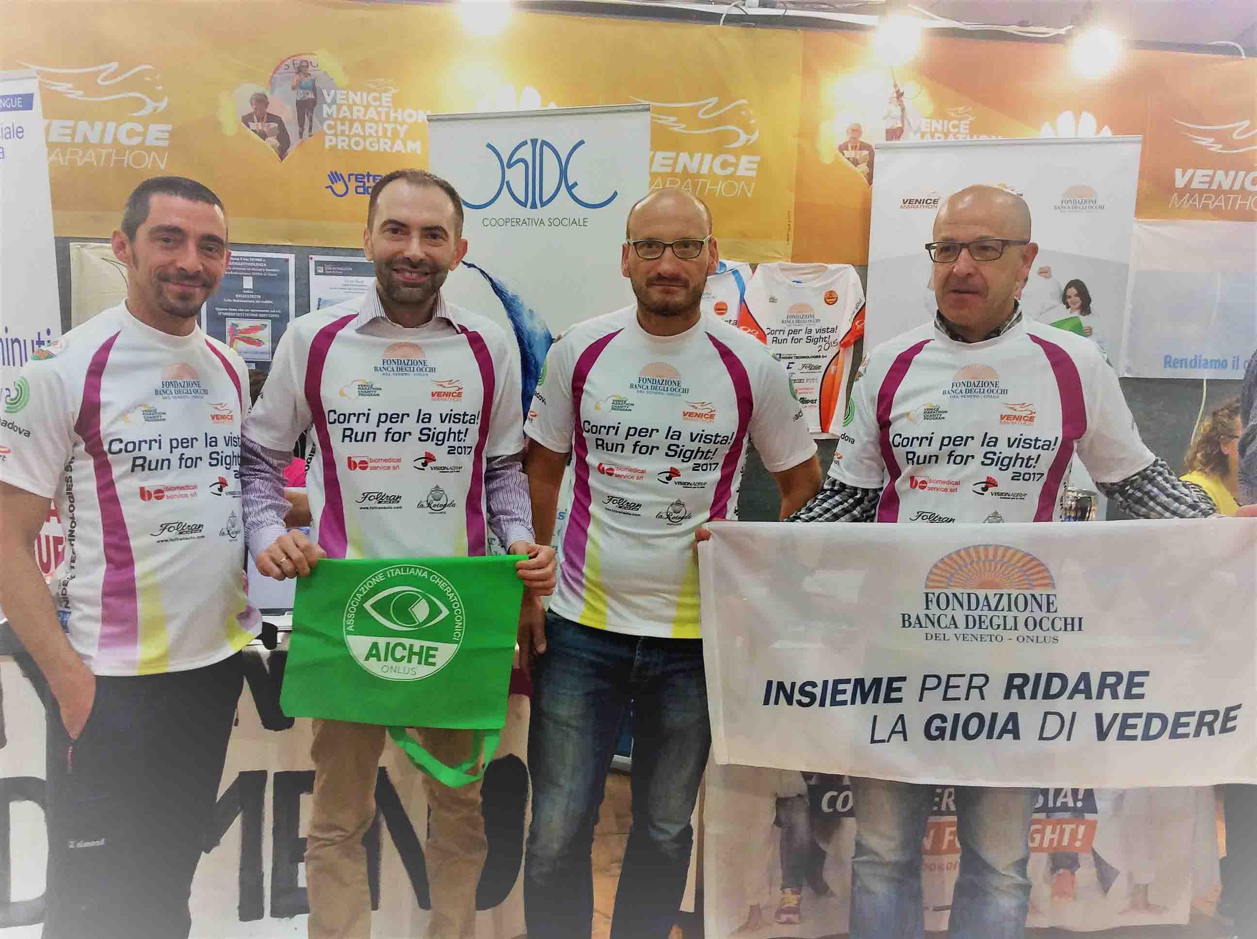Il supporto di AICHE a Fondazione Banca degli Occhi del Veneto