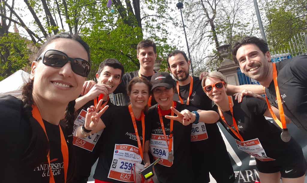 Andersen Tax & Legal Running Team