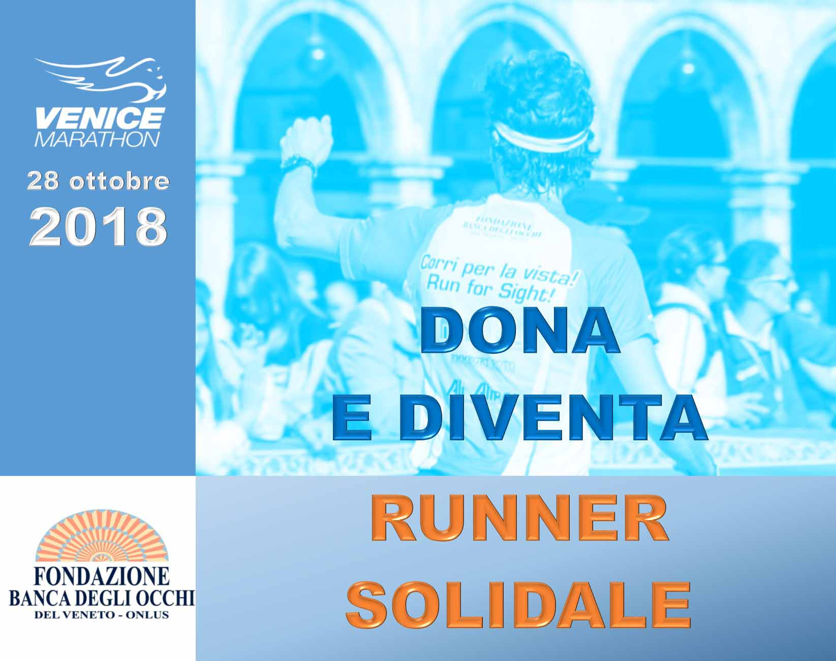 Venicemarathon 2018: diventa runner solidale
