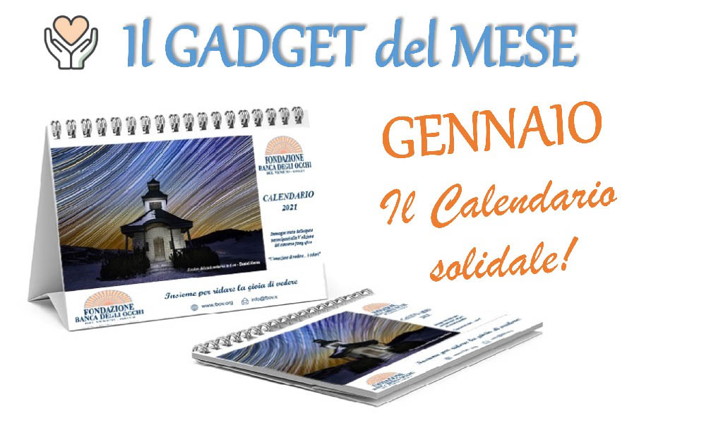 Calendario da tavolo - Solidale