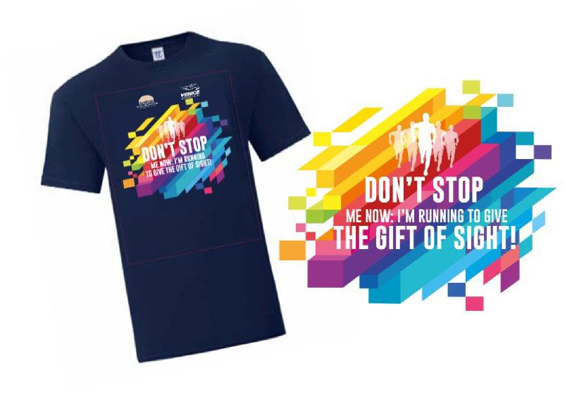 T-shirt Running DON'T STOP - UOMO