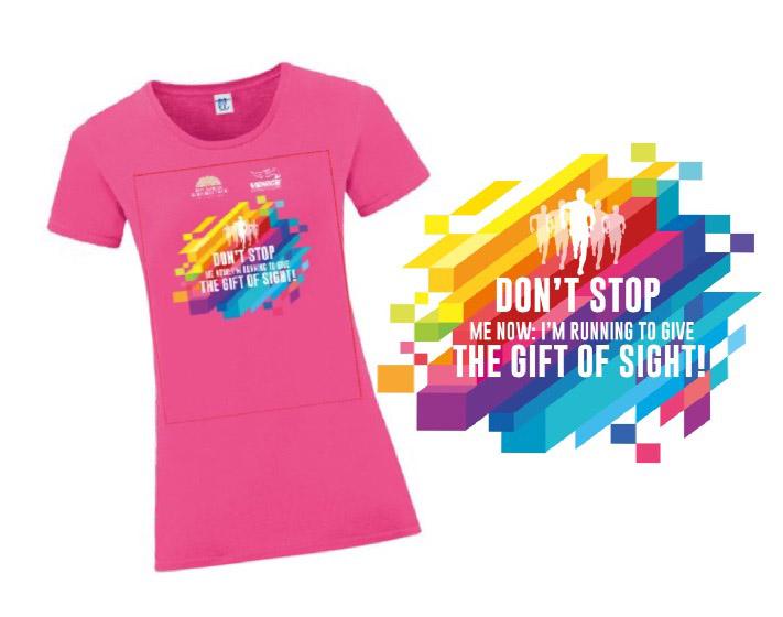 T-shirt DONNA dedicata al running