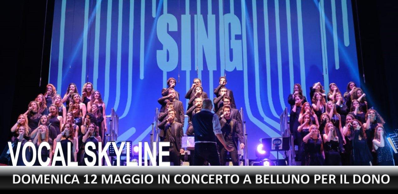 Vocal Skyline domenica 12 maggio 2019 a Belluno