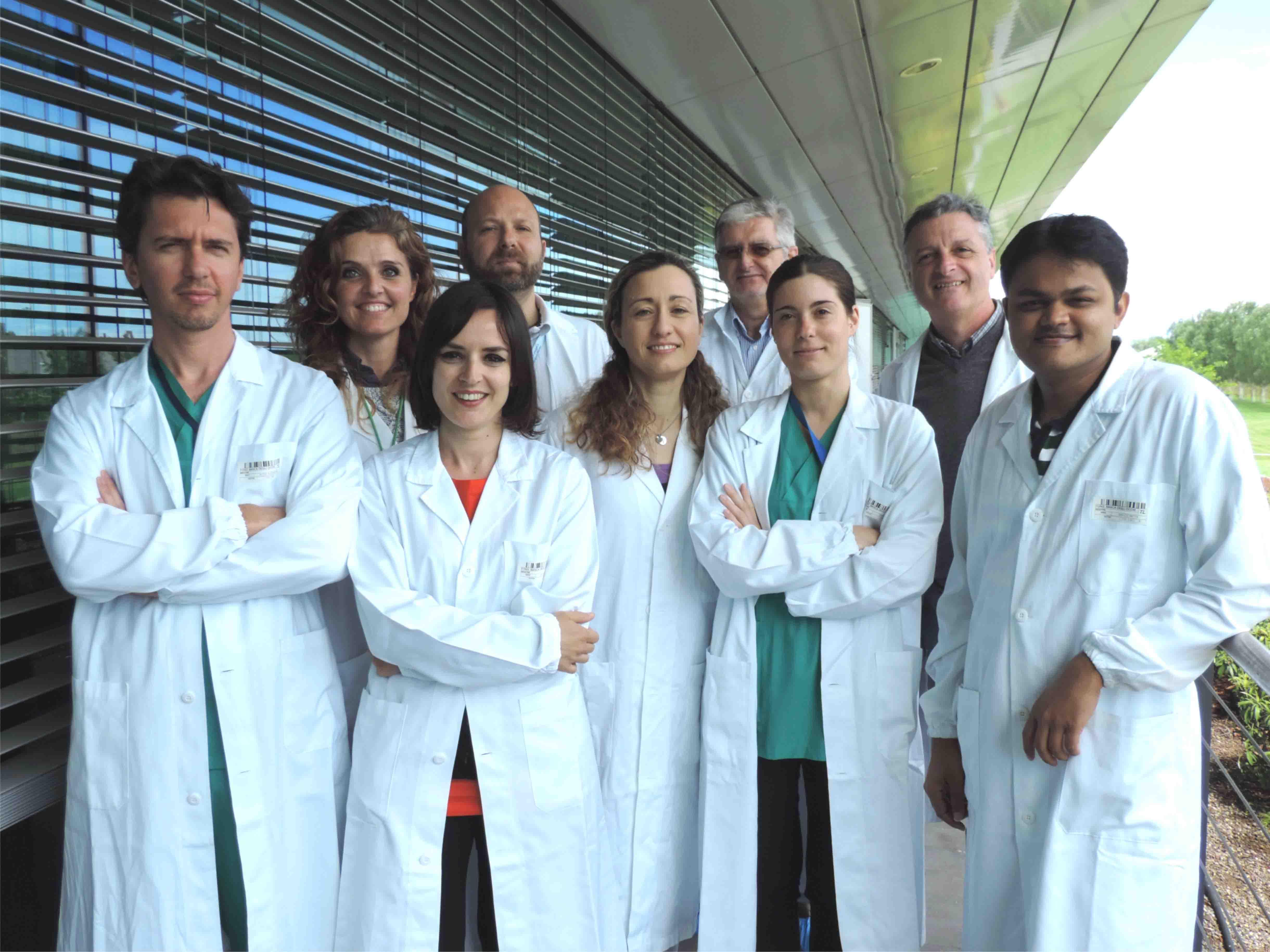 Il gruppo di ricerca di Fondazione Banca degli Occhi