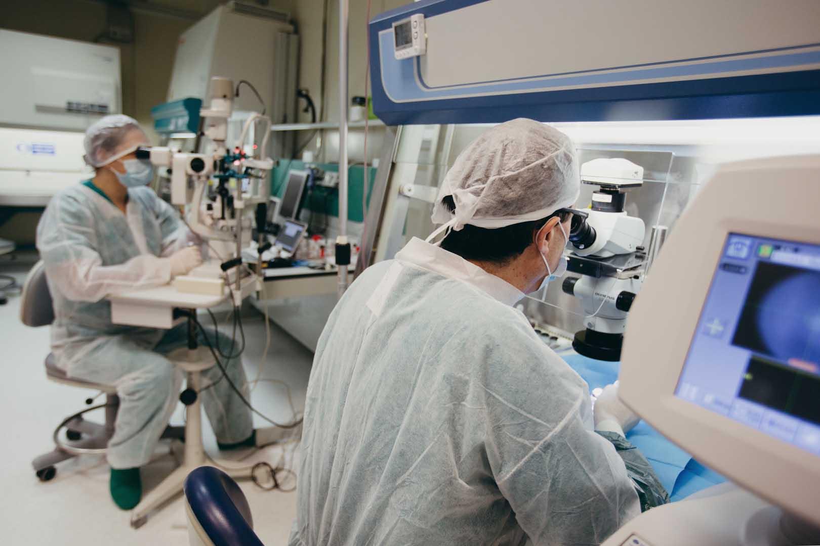 Fondazione Banca degli Occhi del Veneto, laboratori e Sistema di Qualità