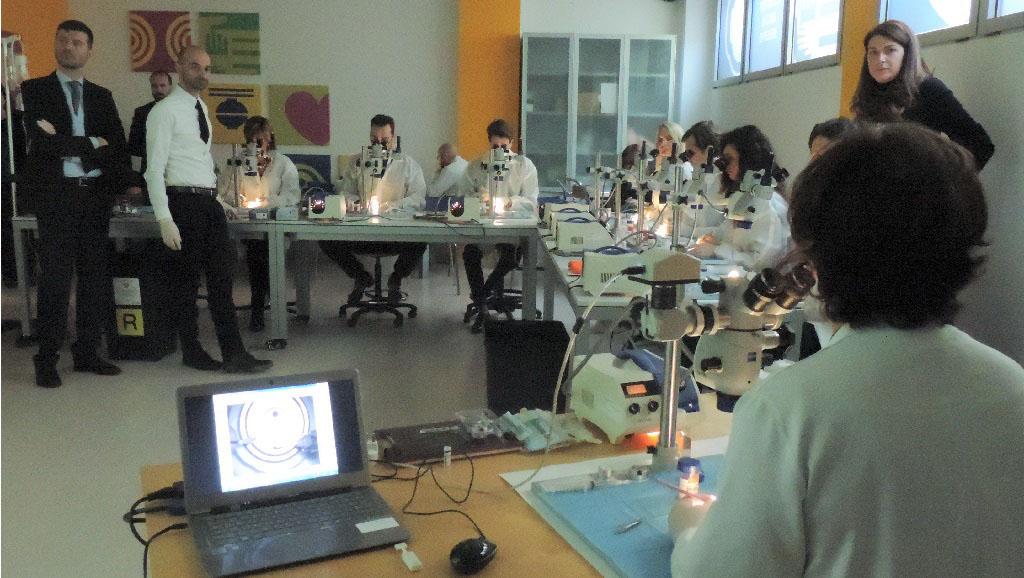 Wet Lab Fondazione Banca degli Occhi del Veneto