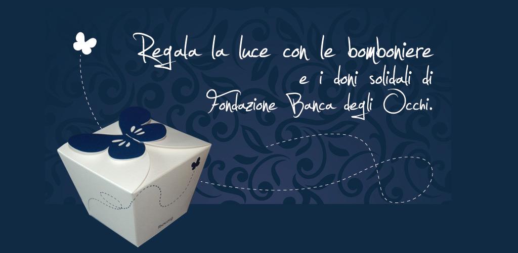 bomboniere: scatoline solidali