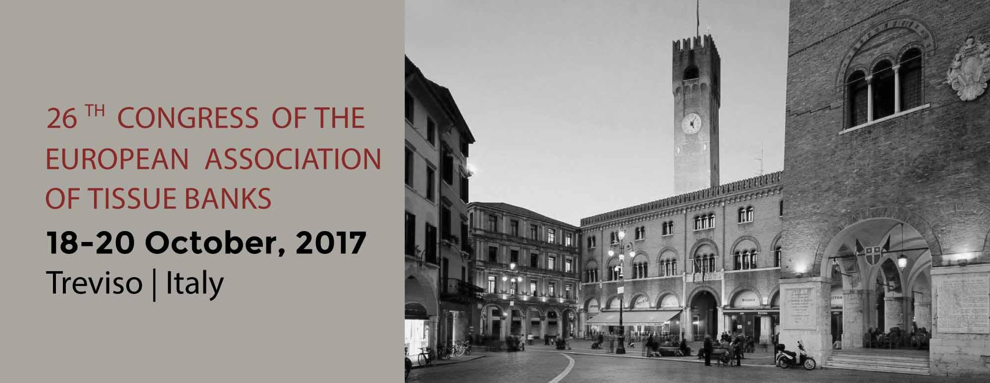 26° Congresso dell'Associazione Europea delle Banca dei Tessuti