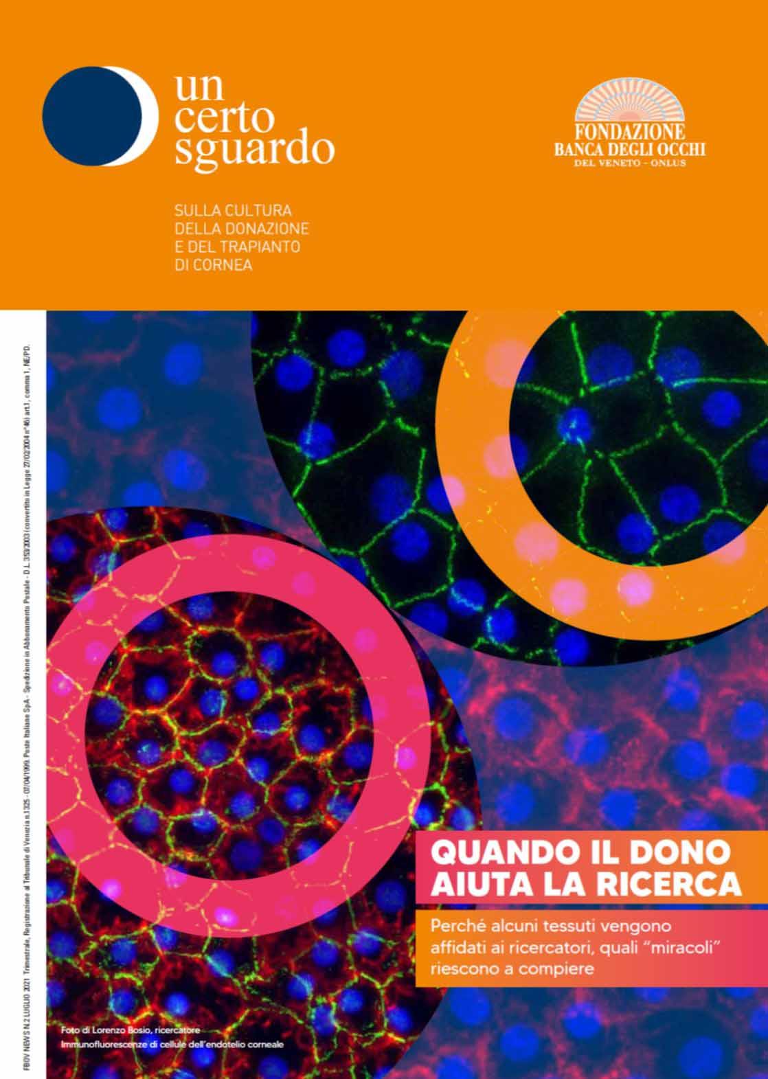 Magazine Un certo sguardo - Luglio 2021